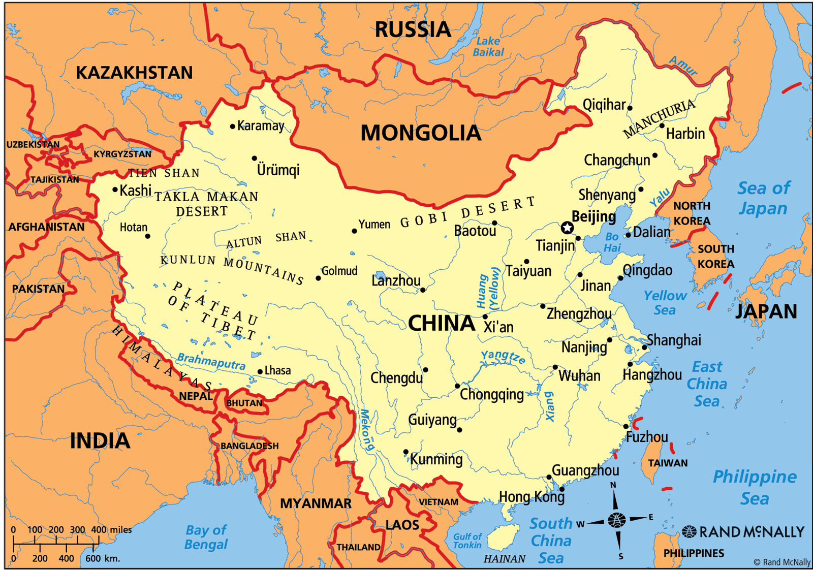 Map Of China And Surrounding Areas.My Child Doesn T Look Chinese Mine In China